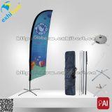la clavette de drapeau de plage de 3m marque l'indicateur de vol