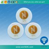 カスタム印刷30mm Ntag213 NFCのステッカー