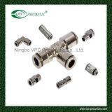 Ajustage de précision pneumatique de connecteurs de tube de connecteurs de tuyau