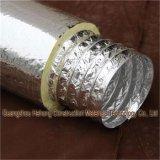 Tubulação & câmara de ar flexíveis de alumínio isoladas do duto de ar