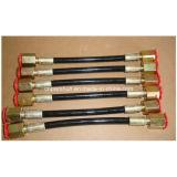 Prueba de la PU 2500bar manguera de presión WP de prueba común del carril