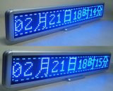 Afficheur LED simple extérieur de message de la couleur P10mm pour la mémoire