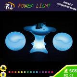 LED에 의하여 조명되는 가구를 바꾸는 LED 비품과 장식 색깔