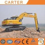 Excavatrice lourde multifonctionnelle de pelle rétro de chenille de Carter CT220-8c (22T)