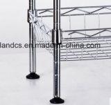NSFの承認4層のクロム網の台所バスケットラック