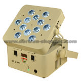 IGUALDAD sin hilos 12X10W RGBWA 5 in-1 de la batería LED