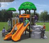 Strumentazione di tema del campo da gioco per bambini piccoli esterni della foresta di Kaiqi (KQ10023A)