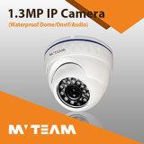 CCTV赤外線IPの保安用カメラ1080P 2MP H. 264 Vandalproof CCTV IPのカメラのセリウムFCC RoHSが付いている屋内監視カメラ