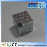 Ímãs pequenos fortes super do cubo do Neodymium N42