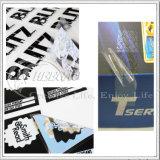 2016 대중적인 디자인, 자동 접착 금속 스티커, 서류상 스티커, PVC&Pet 스티커 (KG-ST009)