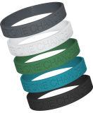 Großhandelsmischfarben-unbelegte SilikonWristbands