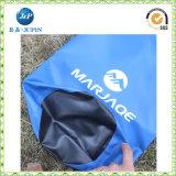 Sacchetto asciutto del doppio dello zaino della cinghia 30L barilotto impermeabile del PVC (JP-WB011)