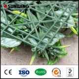 꽃을%s 가진 쉽게 조립된 싼 녹색 인공적인 플랜트 담