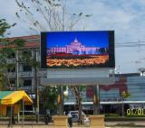 Diodo emissor de luz Display Outdoor P10 para Advertizing