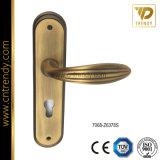 Traitement Vaporific foncé de plaque de porte d'en cuivre d'antiquité de boue de putréfaction (7065-Z6307)
