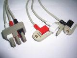 Cavo del circuito di collegamento ECG di Philips M1500A Snap&Clip 3