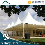 PVC accessible Fabric Structure White Pagoda Marquee Tent pour le parking