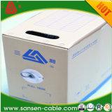 Câble plat flexible du câblage cuivre BVVB de PVC Insulated&Sheathed