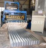 Chapa de aço ondulado Aluzinc / Folha de cobertura de alumínio