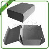Foldable 접힌 마분지 포장 저장 선물 상자를 접히는 편평한 포장된 인쇄 종이