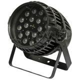 IGUALDAD al aire libre impermeable del zoom 6in1 LED de la iluminación 18X18W de la etapa