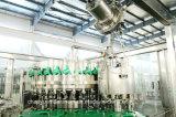 Máquina que capsula de relleno que se lava de la bebida carbónica de la botella de cristal