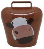Eindeutige praktische Schweizer Cowbells gebildet als Kühlraum-Magnet