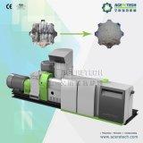 Verwendete Plastikwiederverwertungs-und Repelletizing Zeile für PE/PP/PA/PVC Film/Heizfaden/Raffiabast