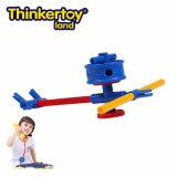 Thinkertoy Land Wetenschappelijke Bouw blokken educatief speelgoed Planes Series Smart Fly
