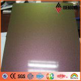 Ideabond PE PVDF Revêtement Spectra Finish Aluminium Composite Facade Panel