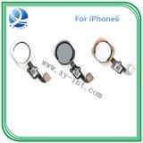 Tasto domestico originale brandnew di 100% per l'oro bianco nero di iPhone 6