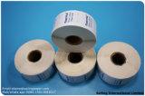 Prétirage de l'étiquette thermique directe avec le logo personnalisé dans toute taille