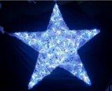 Fiesta luz LED de cadena de la estrella de Navidad luces de la decoración