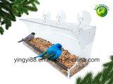 極度の品質の全天候用吸引のコップが付いているアクリルの鳥籠