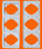 Type européen deux /Three/ bâti horizontal/vertical de quatre