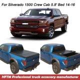 Silverado 1500년 대원 택시 화물 덮개 2016년 자동차 뒷좌석 부분 덮개를 위해
