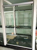Vidrio de la puerta de la ducha (aluminio blanco SD-300)