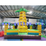 Inflatable Rock Climbing Wall / Inflatable Commercial PVC Type Mur d'escalade / Outdoor Inflatable Rock Climbing Wall