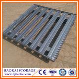 Pálete Stackable de aço galvanizada armazém da alta qualidade de Nanjing