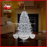 Tutto il White Flying Snow Christmas Tree con il LED e Music