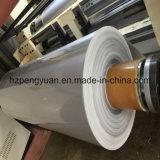 Papel de aluminio de fibra de vidrio, el material de tuberías de vidrio Lana