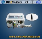 Bozhiwang computarizou a máquina da estaca e de descascamento do fio (o fio sheated redondo)