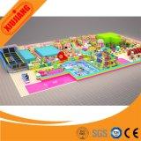 Cour de jeu d'intérieur d'enfants de parc à thème fait sur commande d'amusement