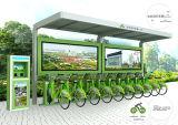 Cabina de control central de un tipo mejorado monótona de la Bicicleta-Aceituna pública