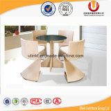 Cadeiras e tabela de jantar tecida Rattan da tabela (UL-531)