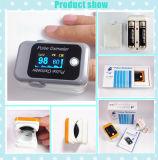 De medische Impuls Oximeter, de Monitor van de Vinger van Oximetro van de Verzadiging van de Zuurstof van het Bloed SpO2 met het Scherm OLED en Bluetooth