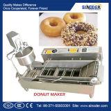 Doughnut die Machine, de Lopende band van de Doughnut, De MiniMachine van de Doughnut van het Gas vormen