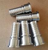 Couplage sanitaire de collier de la conduite d'ajustage de précision de pipe d'acier inoxydable