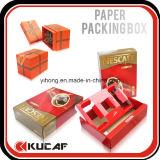 Подгонянная упаковка коробки подарка высокого качества