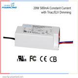 Driver corrente costante approvato del triac/ELV Dimmable LED di TUV 20W 500mA